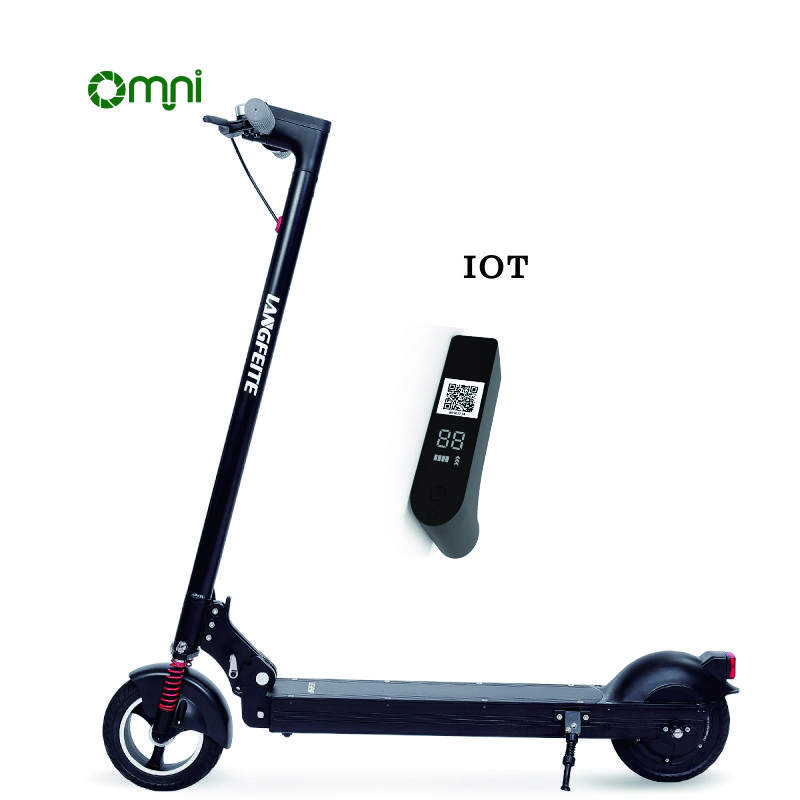 Omni popular sharing electric scooter iot smart scooter lock with gps sharing rental system