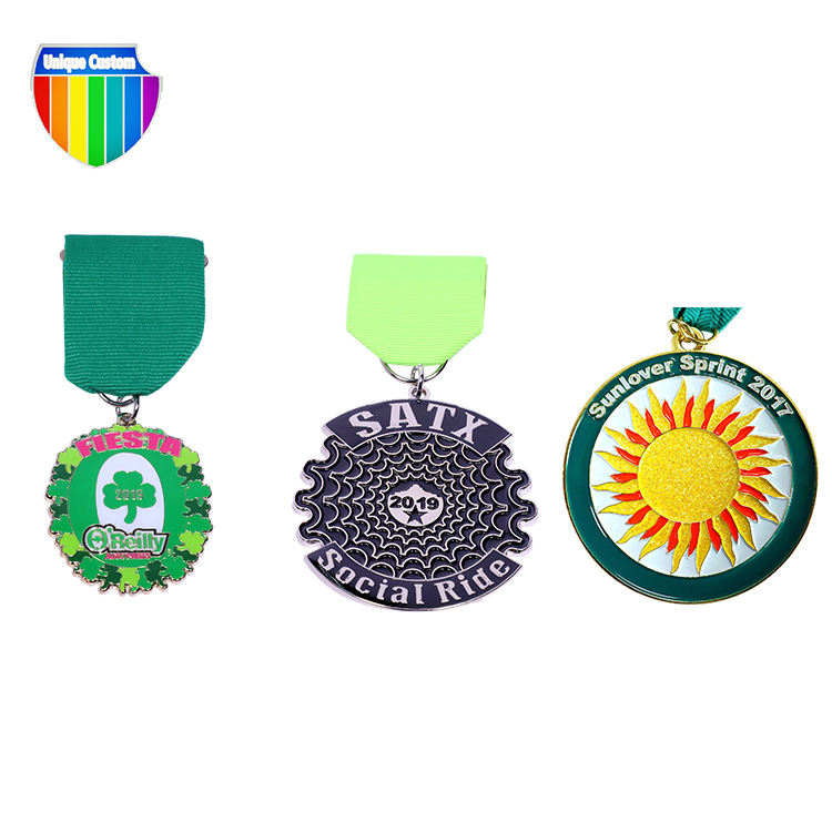 Cheap Price Custom Design Your Own Logo Blank 3d Metal Award Marathon Running Sport Medal