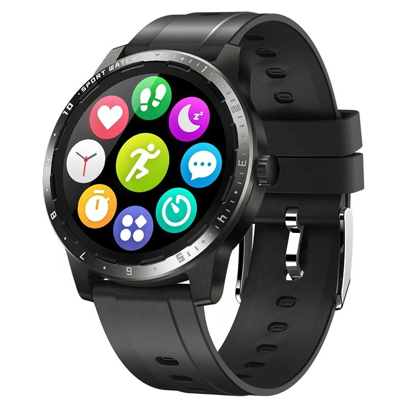Round Full Touch New Smartwatch Arrival Email Message Call Push Watches Wholesale Wristwatches Mens Sports Watch for Apple Watch