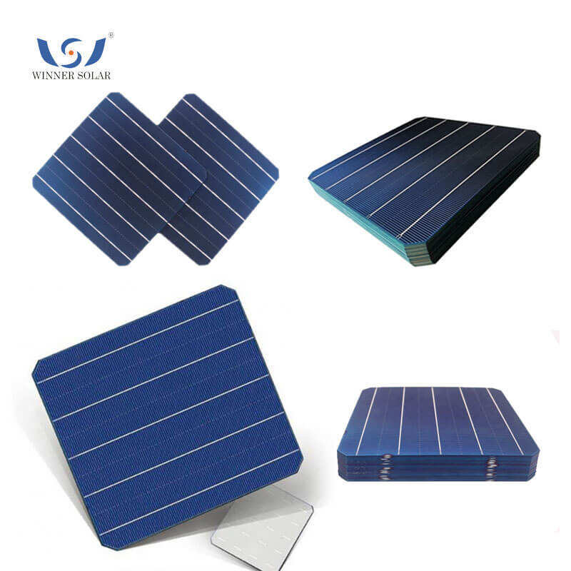 SOLAR CELL Power Bank SOLAR CELL 156.75x156.75 มม.SOLAR CELL 6x6