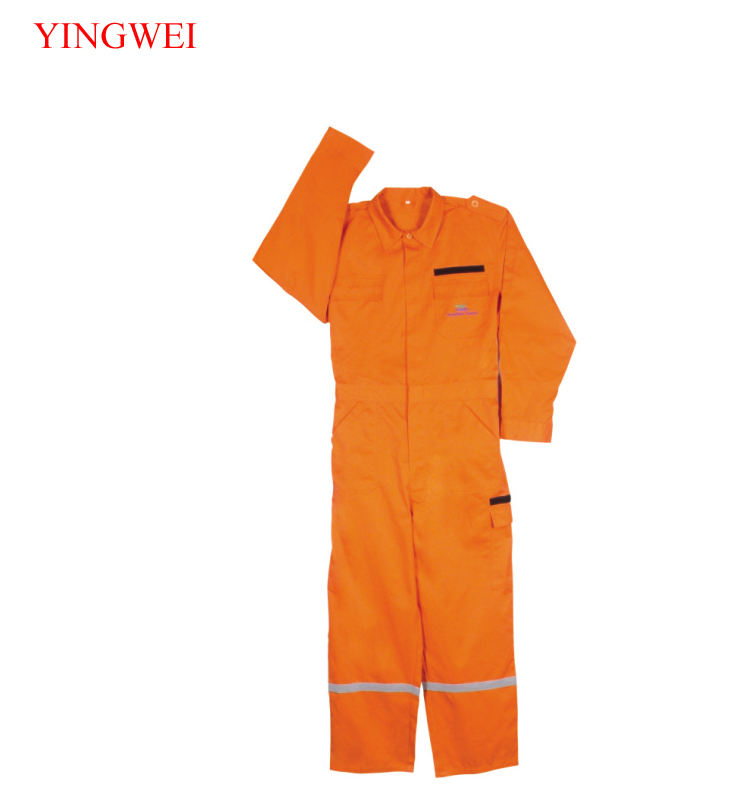 Work Uniforms Clothes Wear Clothing Workwear Women And Mens Reflective Waterproof Print Orange