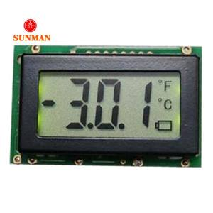 3-4 digit very small micro segment lcd display screen