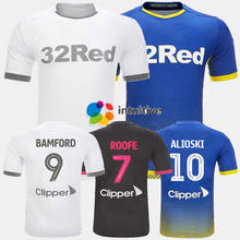 Wholesale High quality print number and name lower price soccer wear Leeds United football shirts soccer jersey