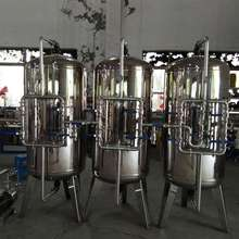 Stainless steel mechanical filter