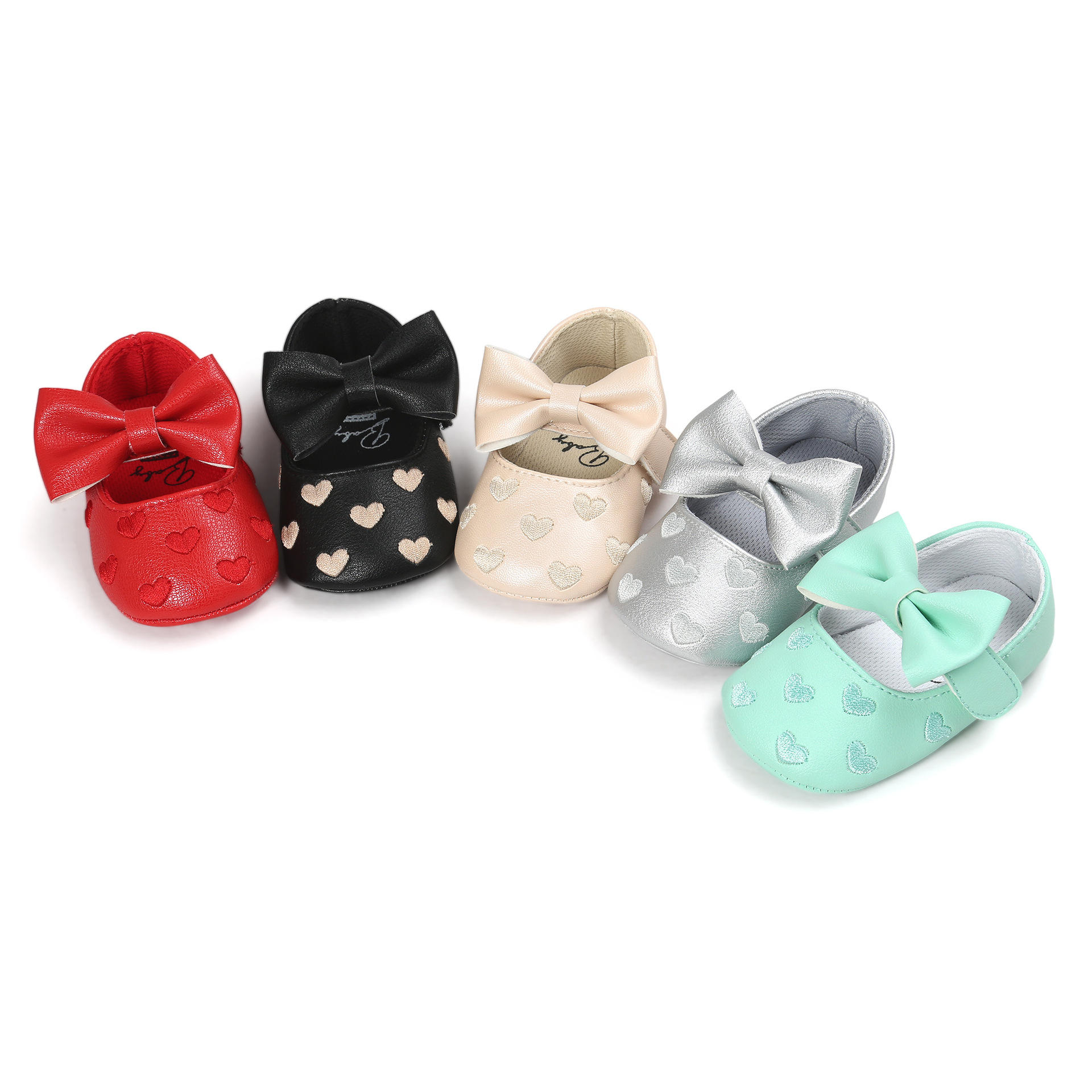 Child Toddler Shoes Baby Girl Shoes First Walkers Lovely Princess Non slip Infant Soft Newborn antiskid baby shoes M0352