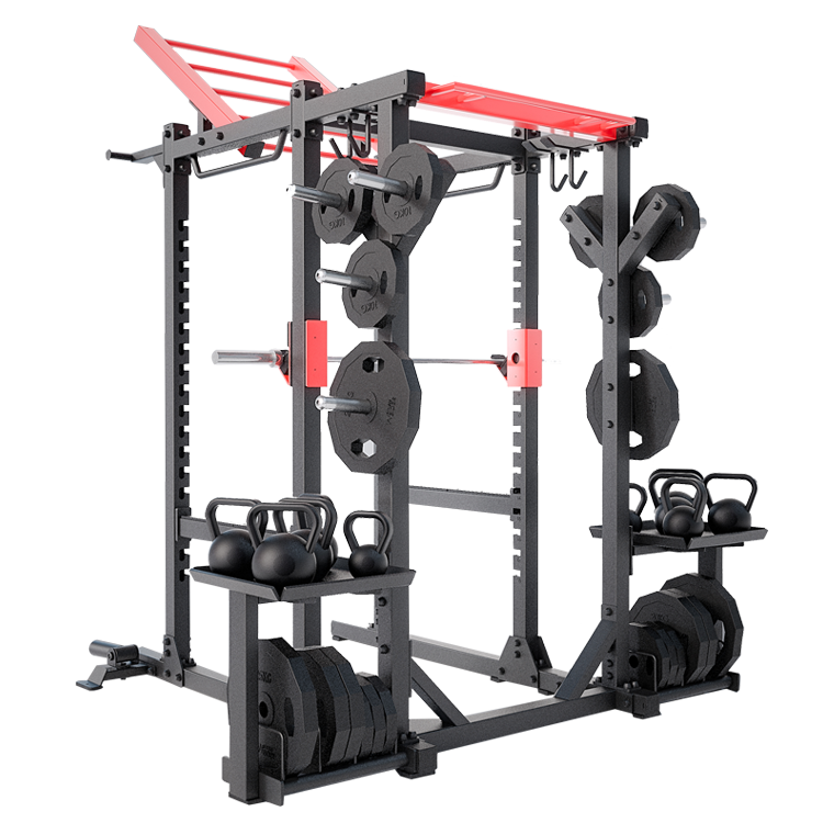 Dhz Fitness Equipment Factories China Beauty Multi Power Rack Gym