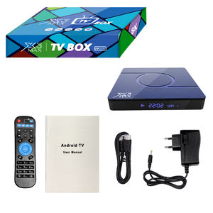 X3 Max S905X3 4 GB 64 GB Android TV Box 9.0 Smart TV Box 5 GHz WIFI HDR 8K h.265 4/32GB X3MAX untuk Xiaomi Redmi S X96 TX3 H96
