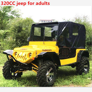 350cc Grande willys mini atv quad con quattro posti