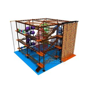 Commerical Kinderen Indoor/Outdoor Speeltuin Indoor Klimmen Netten Voor Verkoop