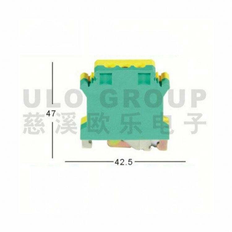 Tipo U/G Tipo de bloques de terminales para carril din