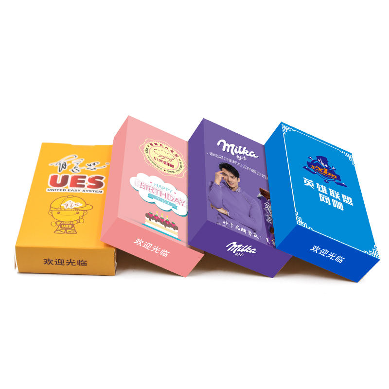 Wholesale Ultra Soft Virgin Pulp 3 Ply 8 Sheet Small Poker Box Tissue for Restaurant Cafe