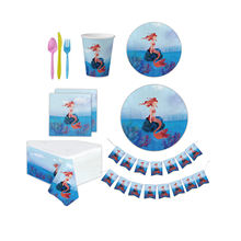 Little Mermaid Party Supplies Event And Happy Birthday Party Supplies