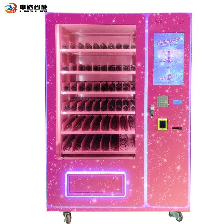 Top sale hair vending machine with cash and card payment