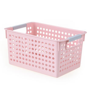 Yali Small Narrow PP Storage Baskets Plastic Easy Home Storage Organization fit Kitchen Storage Shelf Trolley Carts