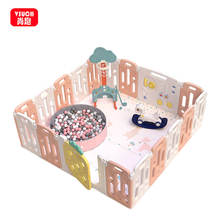 Game Fence Activity Centre Foldable Kids Baby Girl Kid Play Yard Playpen