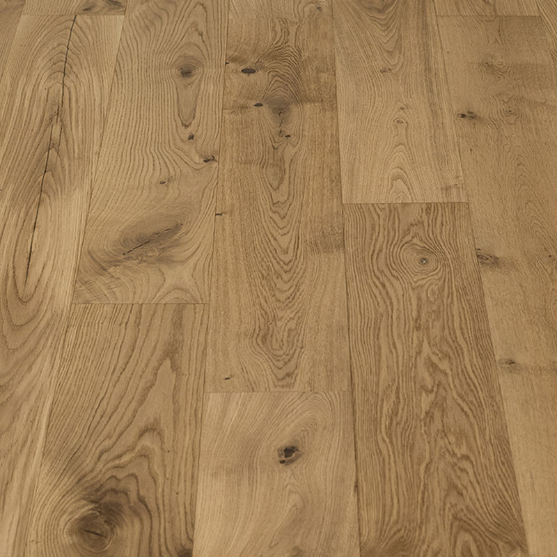 Hardwood Flooring Engineered 3-layer Engineered European White Oak Timber Hardwood Flooring