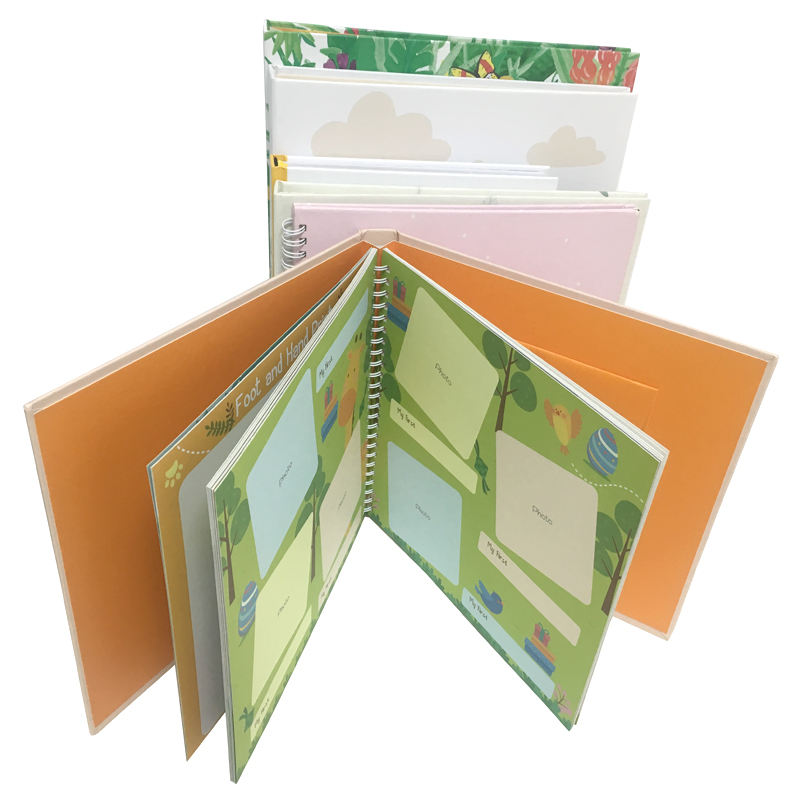 Private label baby memory book and diy journal wholesale