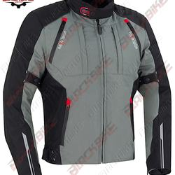 Black Bike Gear New Style Motorcycle Racing Jacket - Softshell Fabric - Durable Jacket - High Quality - Protection with Comfort