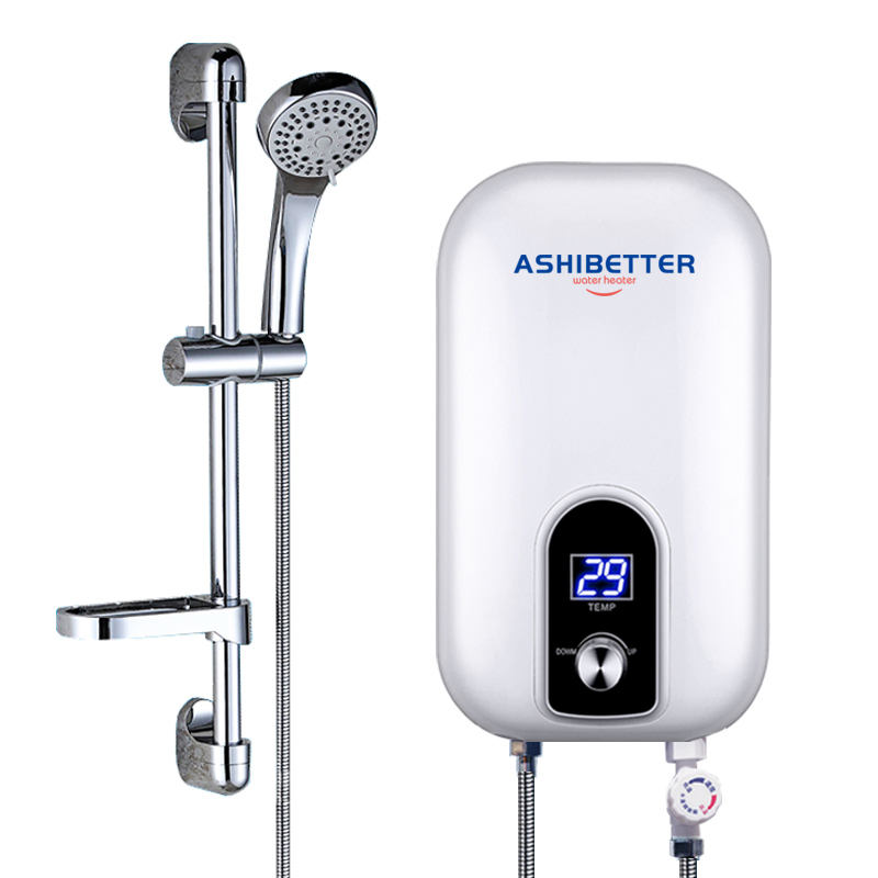 Small Home Kitchen/Bathroom Instantaneous Instant Electric Tankless Shower Hot Water Heater With Manufacturer Price