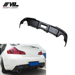 G37 Fiberglass Rear Bumper Diffuser for Infiniti G37 Sedan 4D