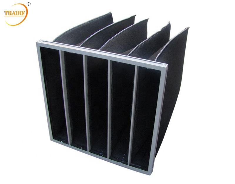 Manufacturers HVAC Activated Carbon Pocket Air Filter