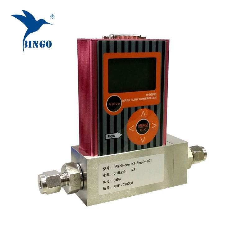High Accuracy Ammonia Gas Air And Lpg Mass Flow Controller Flow Meter