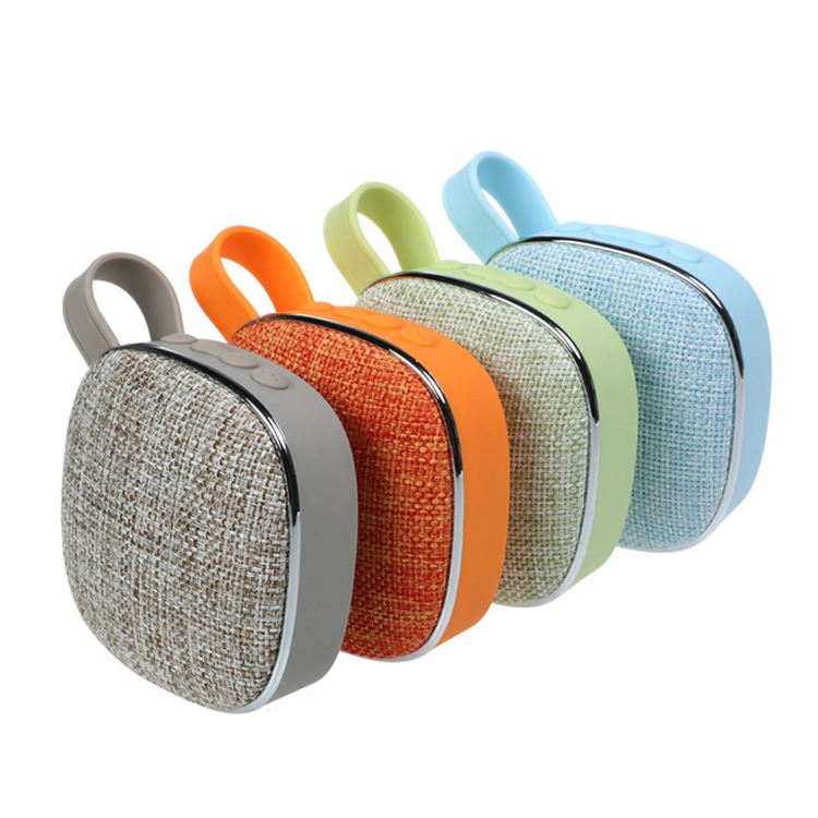 Wholesale New Portable Bluetooth Speaker Outdoor Home Small Fabric Rechargeable USB Wireless Mini Bluetooth Speakers