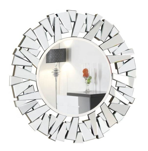 Hot selling Handmade Large contemporary 3d decorative wall mirror