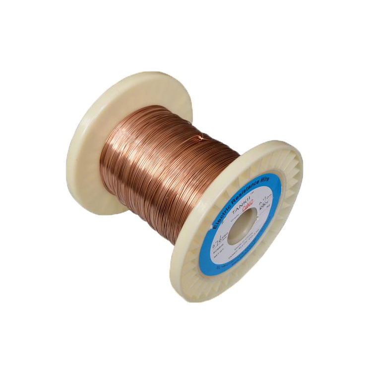 High quality low resistance CuNi6 enamelled copper wire