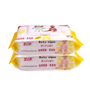 Spunlace Material and 16*19cm Sheet Size hygienic wet wipes