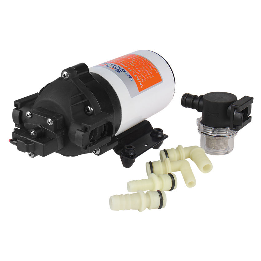 SEAFLO DC 220V 5.6LPM 80PSI High Pressure Diaphragm Pump
