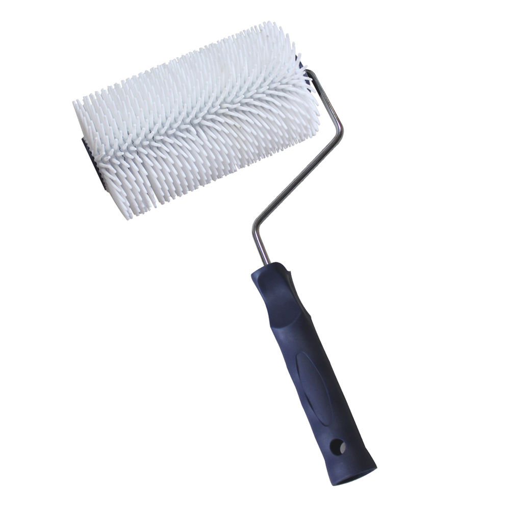 Nylon Floor Paint Brush 7 inches Defoaming Roller