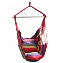 Customized Cotton Children Wooden Bedroom Patio Swing Chair for Bedroom