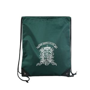 Eco-Friendly Customized Promotional Laminated drawstring bag with logo