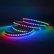 5V 144leds WS2812B 144 LEDs/M 5050 RGB Chip WS2811 IC Digital LED Strip Light IP30 Non-Waterproof