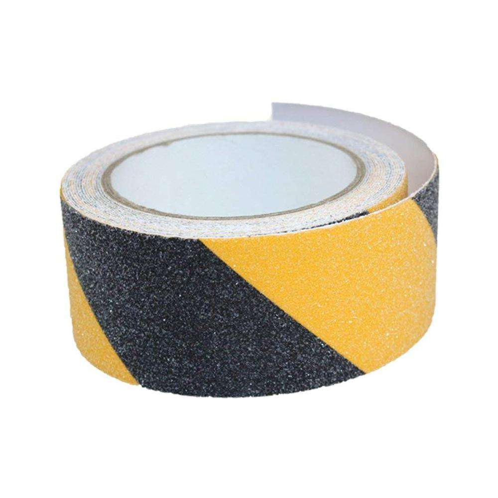 Amarelo-Preto Escadas Anti-slip Grip Tape