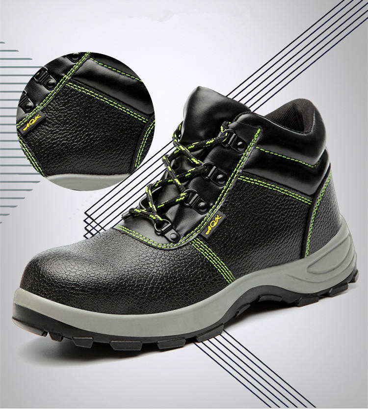 Hot sale safety shoes steel toe men working safety shoes with CE