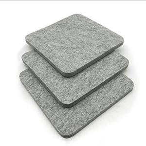 Amazon best seller 100% Grey Wool Pressing Pad Customized Size Wool Ironing Mat