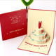 Merry Christmas tree gift card 3D pop up card handmade custom greeting cards Christmas gifts souvenirs postcards