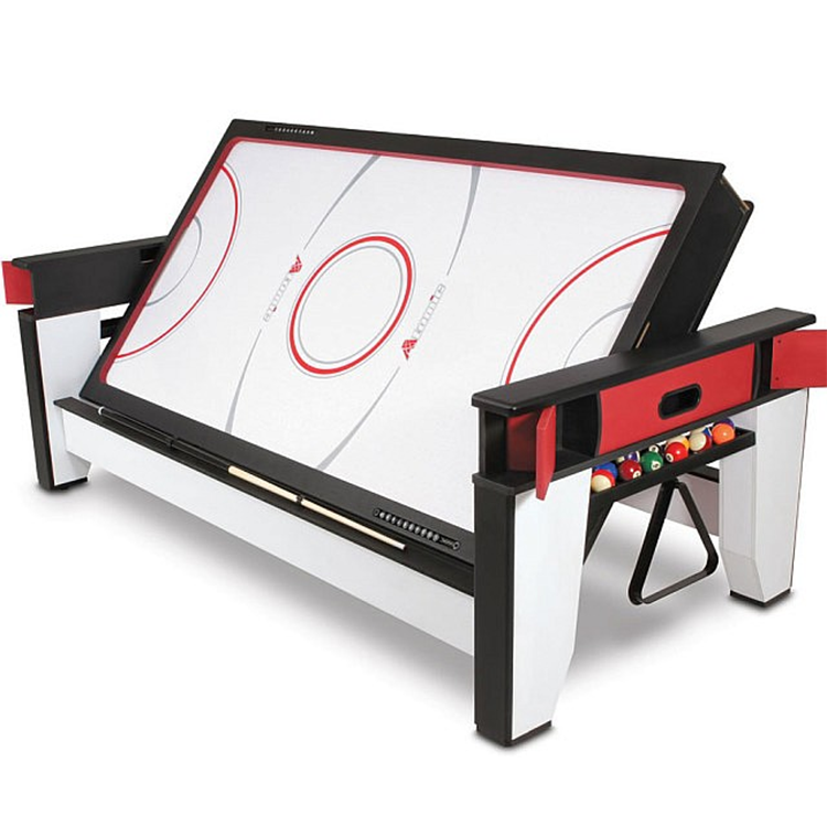 SZX 6ft 7ft 2 in 1 Multi functionele klapperen biljart tafel om air hockey tafel voor sales