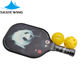 usapa high quality professional outdoor Training Activities of Carbon Fiber PP Honeycomb pickleball paddle