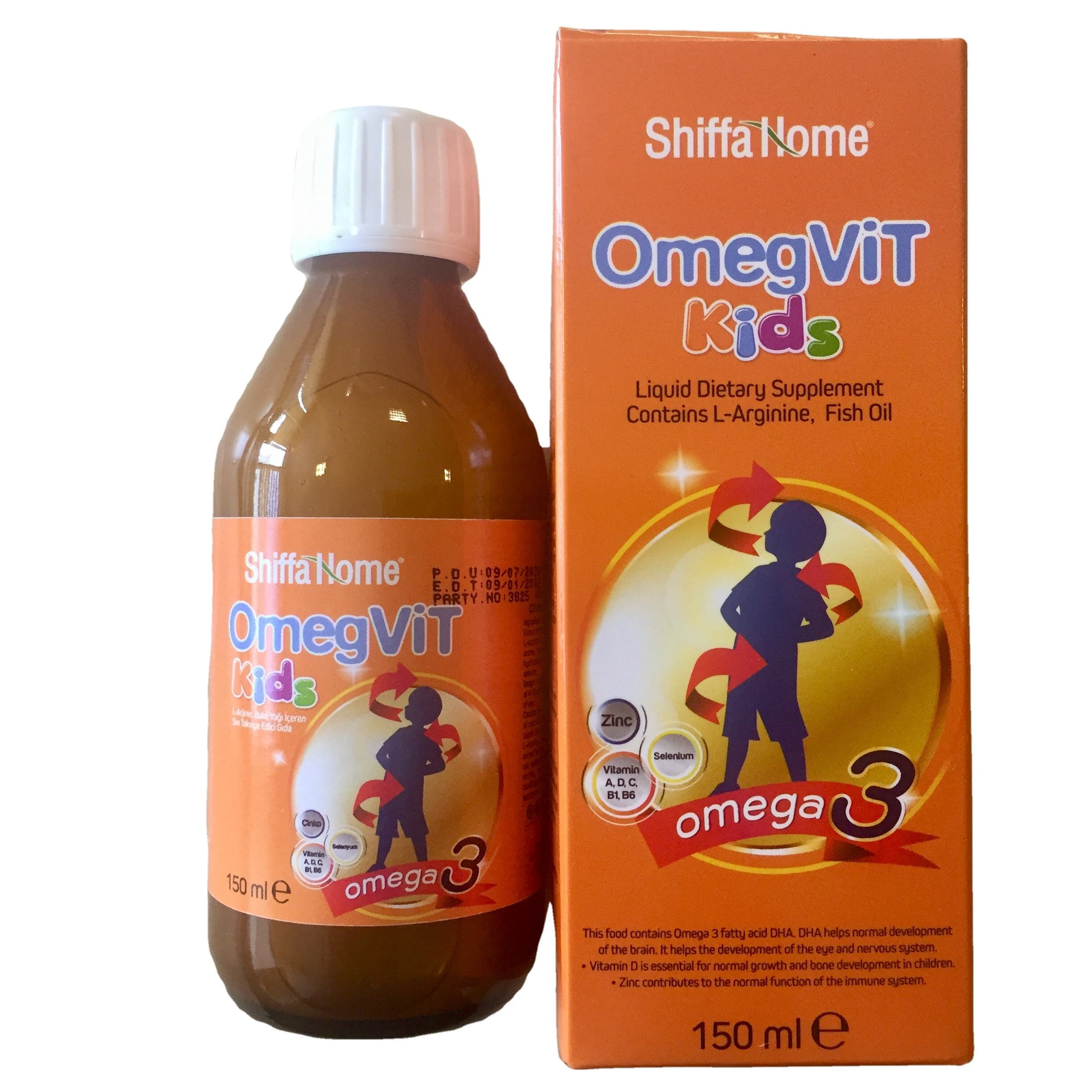 Growth syrup for children omega 3 kids syrup supplement vitamin for baby