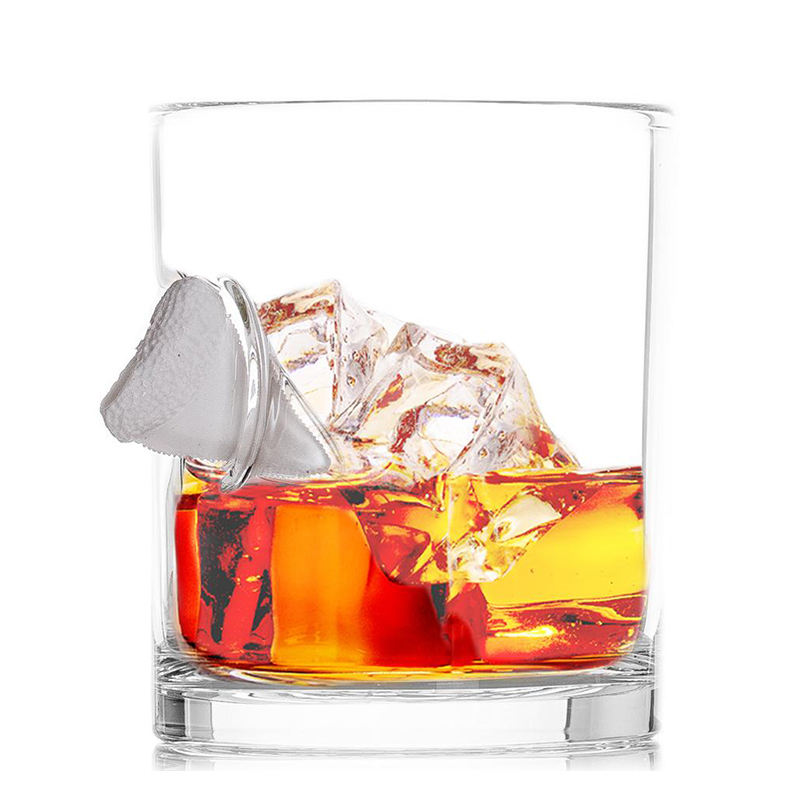 270ml Hand Blown Handmade Embedded Original Real 0.308 Bullet Whisky Glass For Gift
