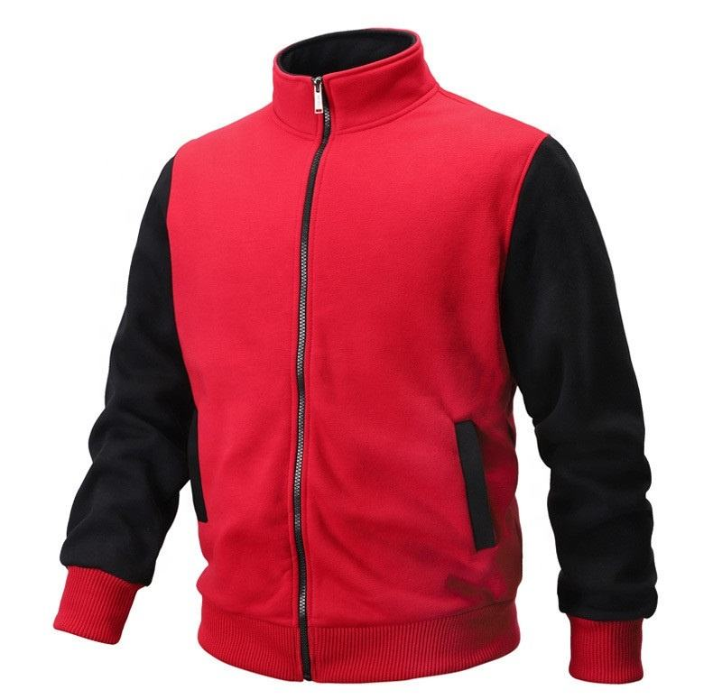 Zip up Without Hood high quality smooth and comfortable top treading in amazon fleece new design custom hoodie for men