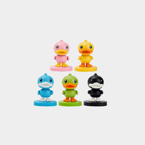 Wholesale Custom Made Yellow Duck Bobble Head Dolls