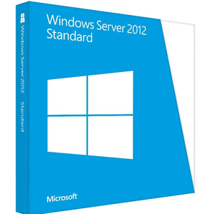 Standard Microsoft software Windows Server 2012 DVD für 64 bits OS OEM Paket