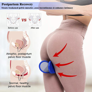 New Beautiful Thigh Exercise Buttocks Shape Pelvic Muscle Kegel Exercise Sexy Womens Hip Clip Trainer