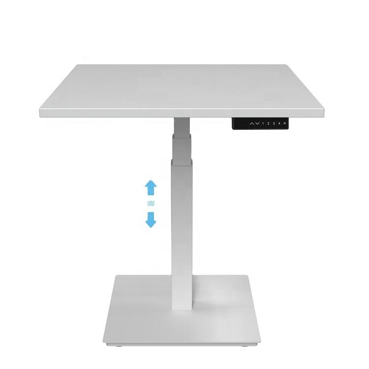 Electric single column Sit Stand up Height Adjustable Desk