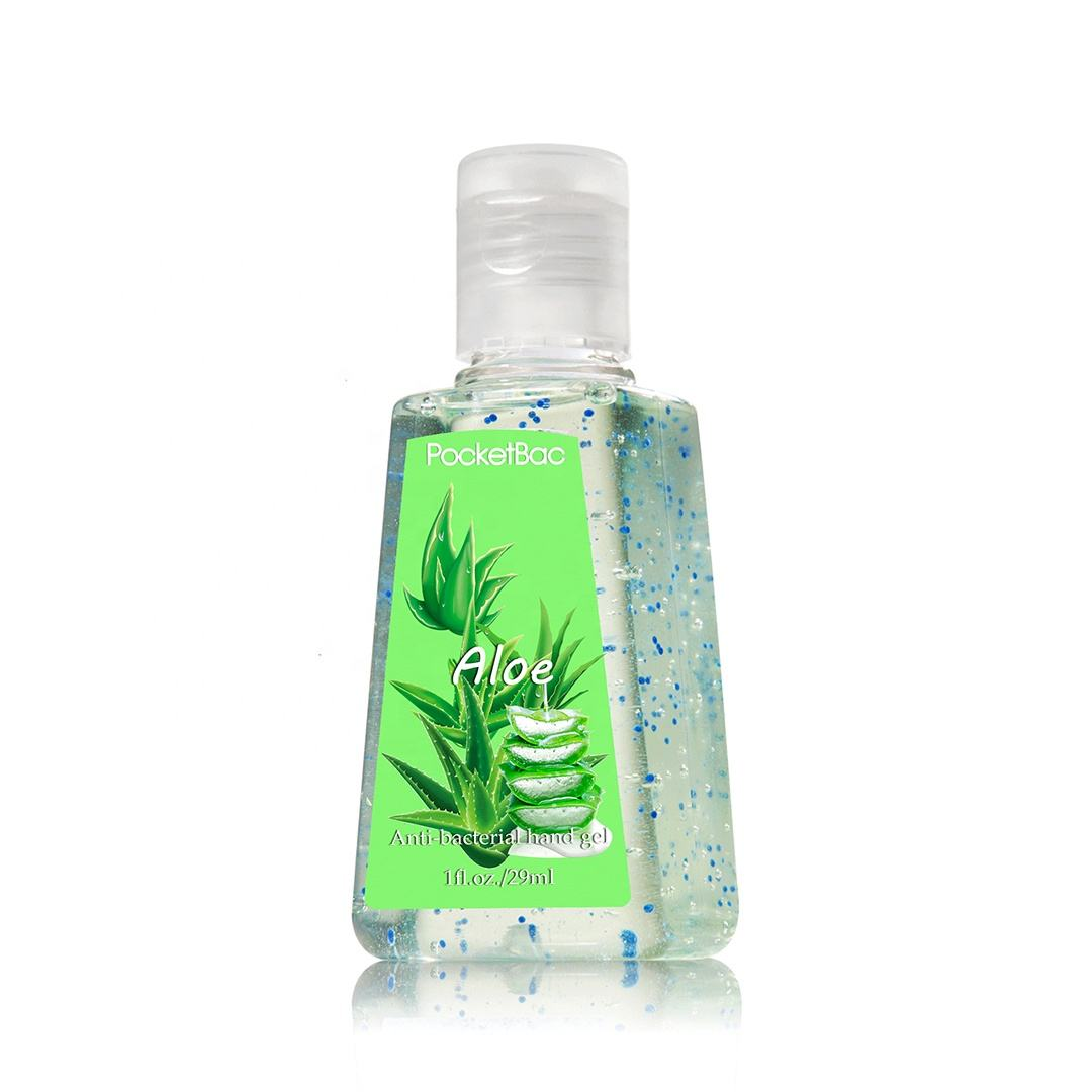 Waterloze antibacteriële hand sanitizer gel