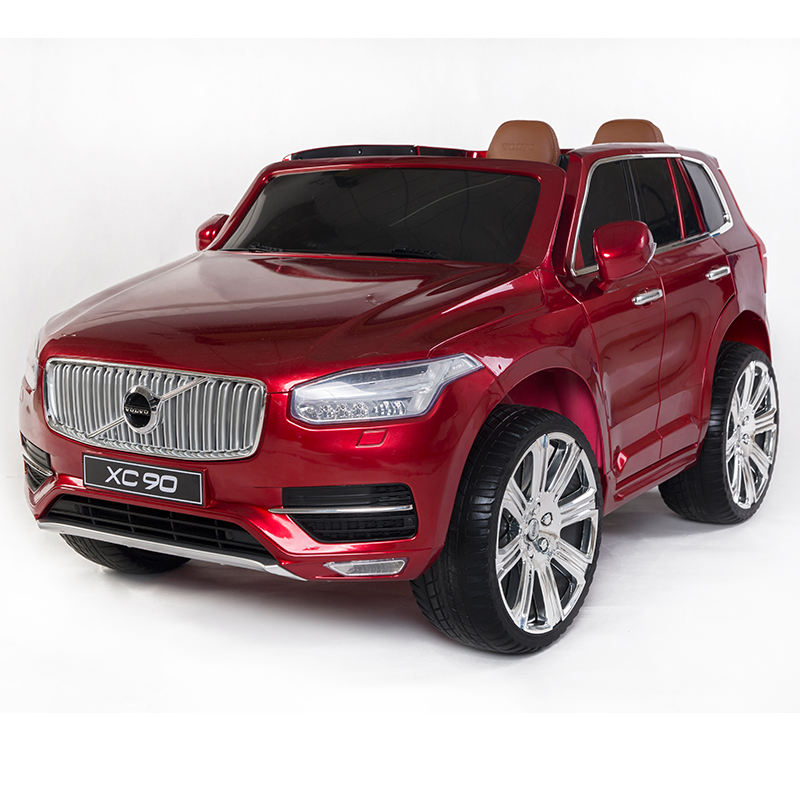 High Quality 2019 Licensed Volvo XC90 Children Cars 2 Seater Kids Toy Ride On Electric Car Foot To Floor Car